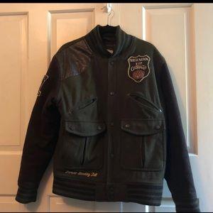 Other - Parish Nation Keep Choppin Varsity Jacket For Men